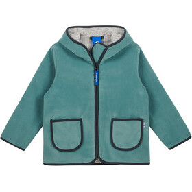 Finkid Tonttu Zip-in Fleece Jas Kinderen, trellis/graphit